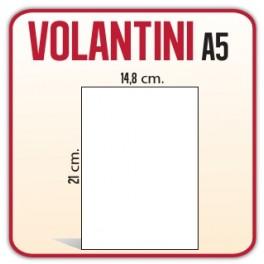 2.500 Volantini A5 14,8x21 cm