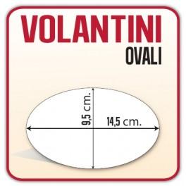 5.000 Volantini Ovali Diametro 9,5 x 14,5 cm
