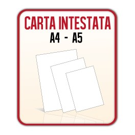 1.000 Fogli Carta Intestata A4