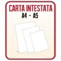 7.500 Fogli Carta Intestata A4