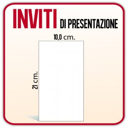 100 Cartoline 10x21 cm