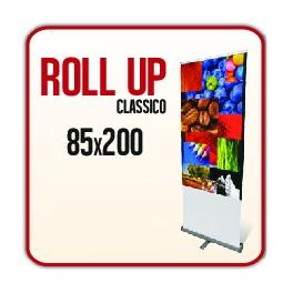 Rollup classico 85x200 cm - Completo di Stampa