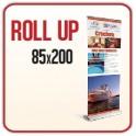 Rollup 85x200 cm - Completo di Stampa