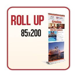 Rollup Luxury 85x200 cm - Completo di Stampa
