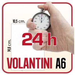 2.500 Volantini A6 - Stampa in 24 ore