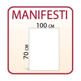 5 Manifesti 70x100 cm