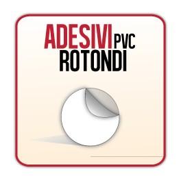 Rotondi 9,5 cm - Adesivi PVC