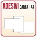 10 Etichette in Carta Adesiva A4