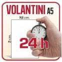 500 Volantini A5 14,8x21 cm