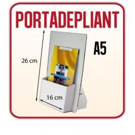 50 Portadepliant in cartone bianco