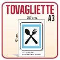 100 Tovagliette A3