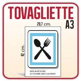 250 Tovagliette A3