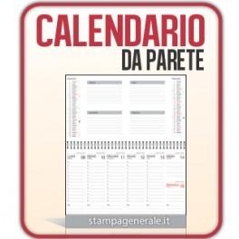 250 Calendari da Parete A4