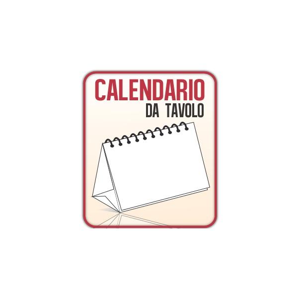 Stampa calendari da tavolo personalizzati a5 quadrato for Scrivania low cost