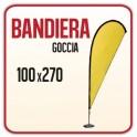Bandiera a Goccia 100x270 cm