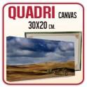 Quadro in Canvas 30x20 cm