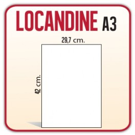 10 Locandine A3 a 10 centesimi