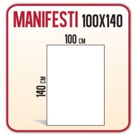 50 Manifesti 100x140 cm