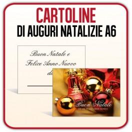 100 Cartoline Natalizie 10,5x14,8 cm