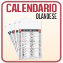 100 Calendari Olandesi da Muro Classic - f.to 29x42,5 cm