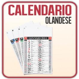 100 Calendari Olandesi Classic da Muro - f.to 29x47 cm