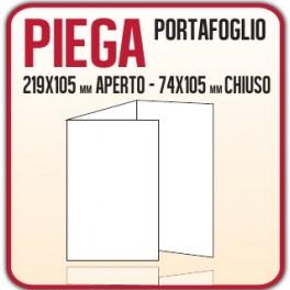 5000 Pieghevoli o Brochure 74x10,5 cm.