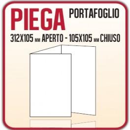 5000 Pieghevoli o Brochure 10,5x10,5 cm.