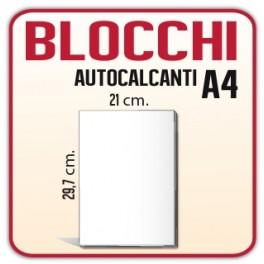 100 Blocchi Autocopianti A4 (210x297 mm) - triplice copia 50x3