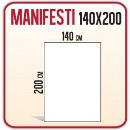 100 Manifesti 140x200 cm
