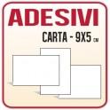 50 Etichette Adesive o Adesivi in carta  9x5
