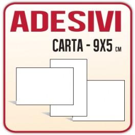 9x5 - Etichette Adesive in carta 9x5 stampa offset