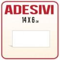 Etichette Adesive PVC 14 x 6 cm