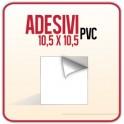Quadrato (10,5 x 10,5 cm) - Etichette Adesive PVC