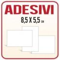 8,5x5,5 - Etichette Adesive PVC