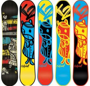 snowboard personalizzato